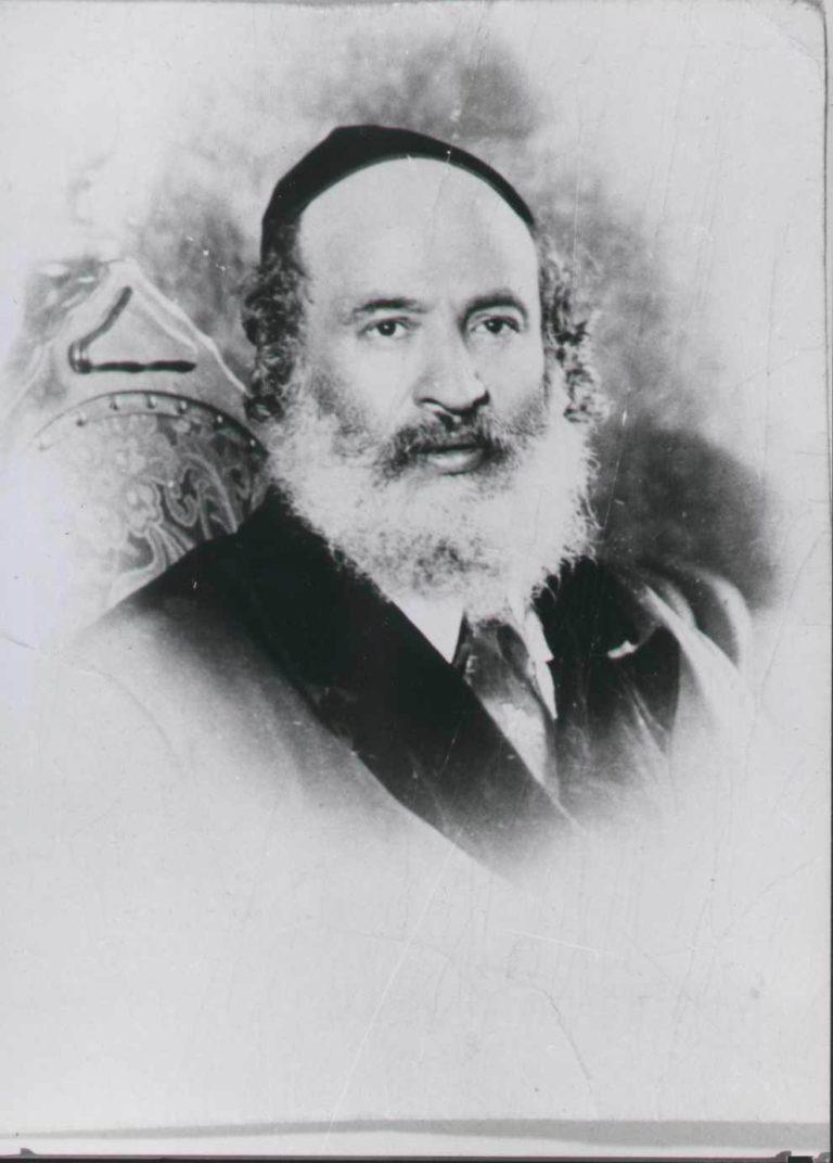"""רבי שאול ידידיה אלעזר טאוב ממודז'יץ בעל ה""""אמרי שאול"""""""
